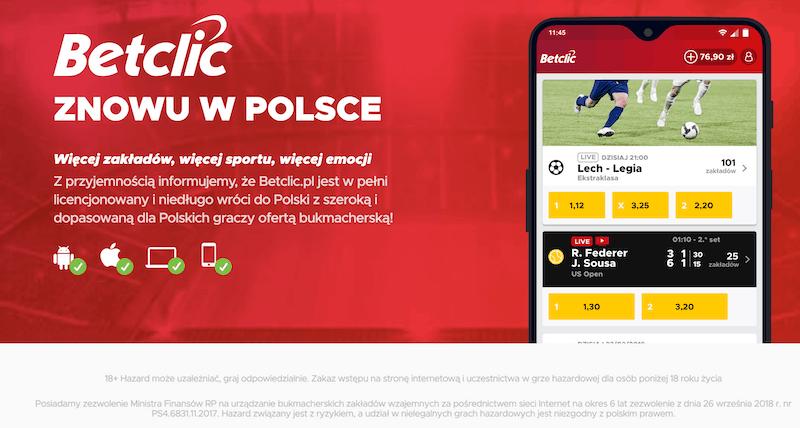 betclic polska oferta online